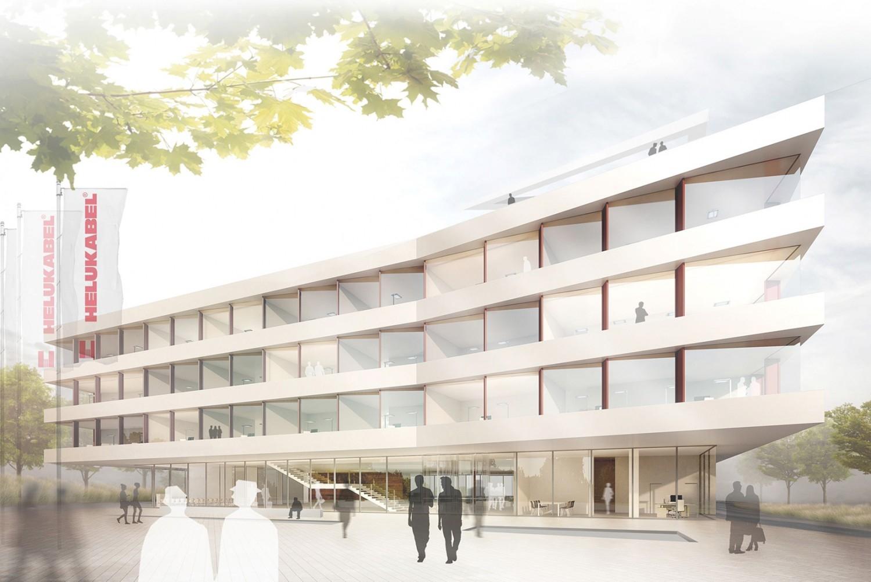 Neubau Verwaltungsgebäude Helukabel Hemmingen - K+K ...